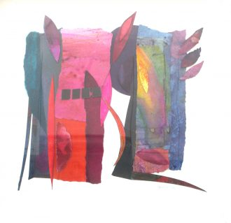 <strong>PAPER PIECE 1</strong>, 54x54cms