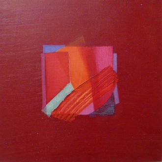 <strong>MINIMAGENTA</strong>, oil on board 20x20cms