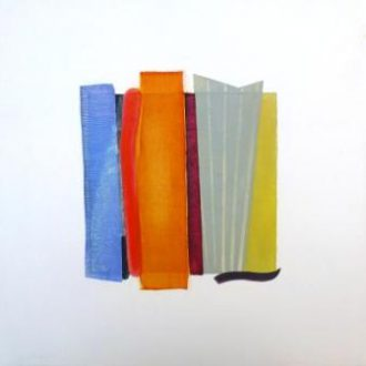 <strong>WHITE SERIES 2</strong>, oil on board 22x22cms